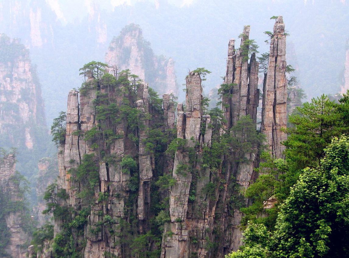 Trung Quốc: Trương Gia Giới - Phượng Hoàng Cổ Trấn
