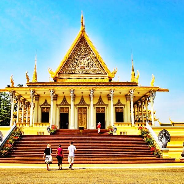 Du lịch Campuchia Phnom Penh - Siem Reap